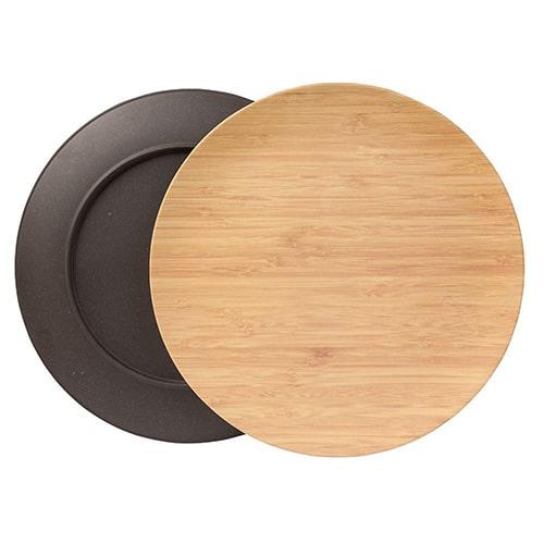 бамбуковые тарелки