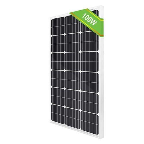 экологичные солнечные панели мощностью 100 Вт