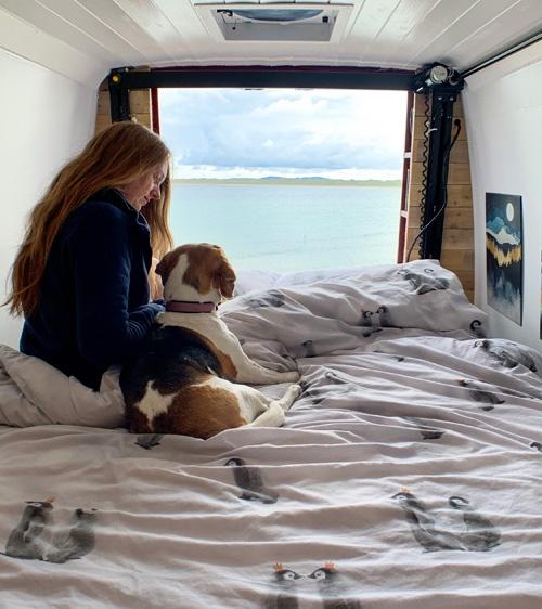 van build bedroom