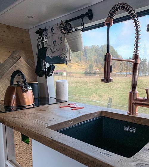 van build kitchen