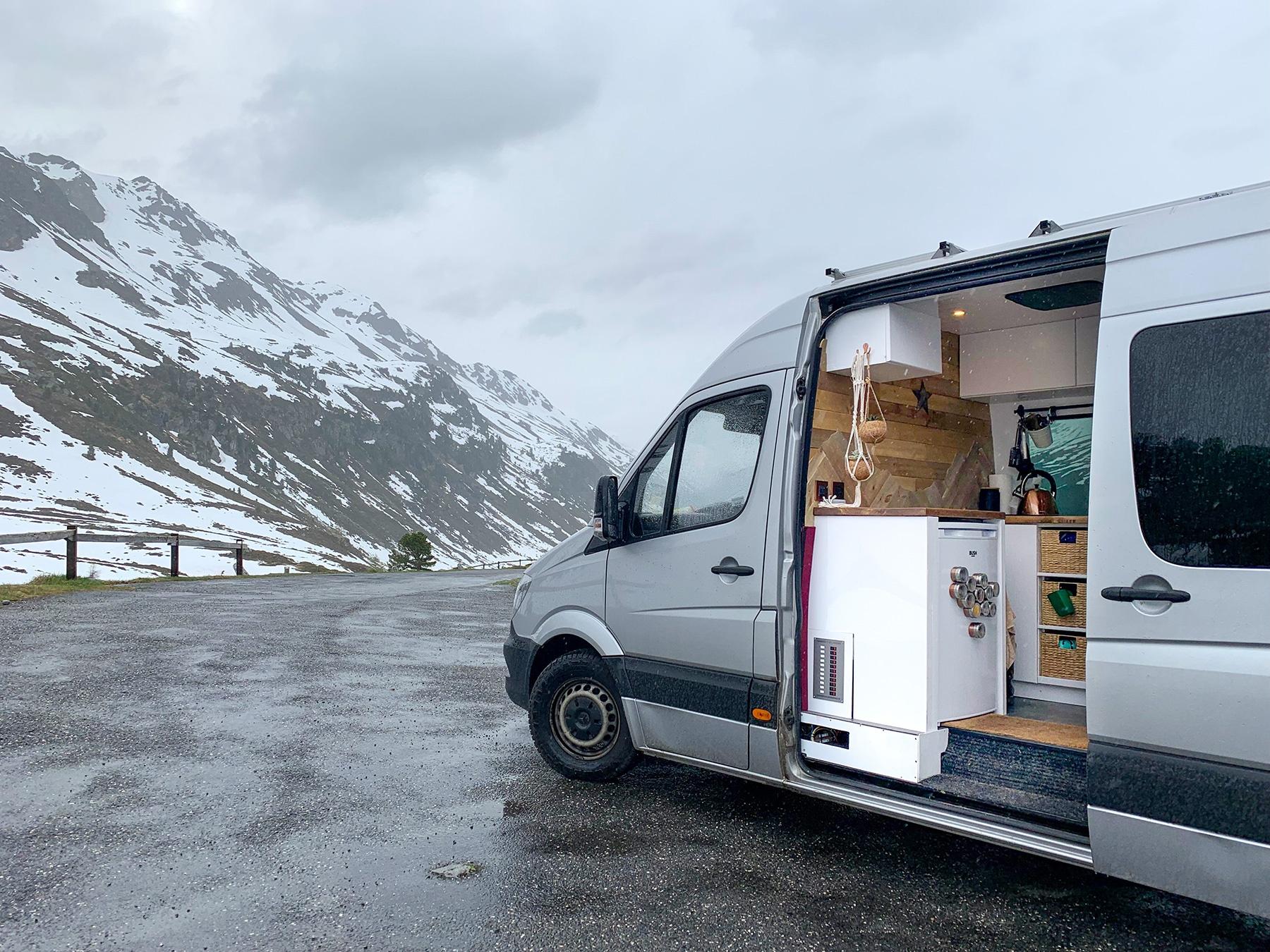 Can my Camper Van Blow Over?