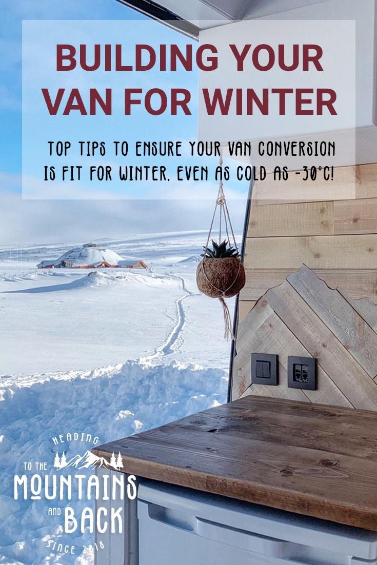 van build winter