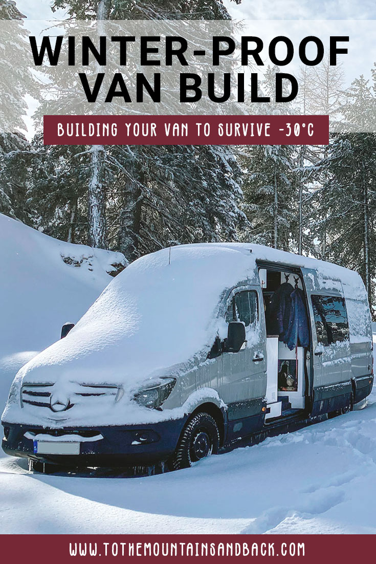 Pin Winter Proof Van Build