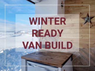 winter van build