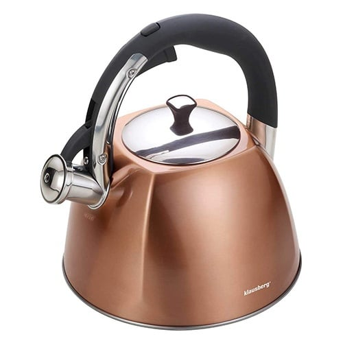 copper whistling kettle