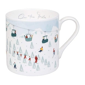 sophie allport skiing mug