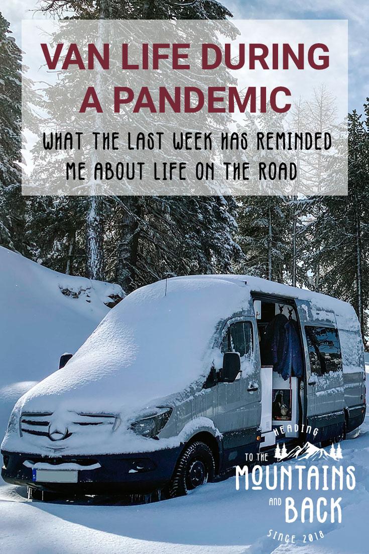 pin van life in pandemic