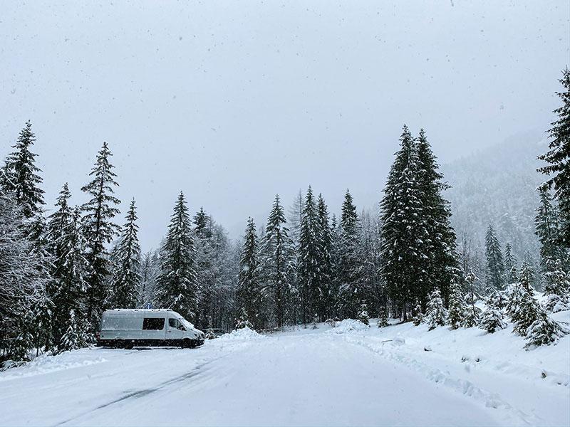 van life and isolation