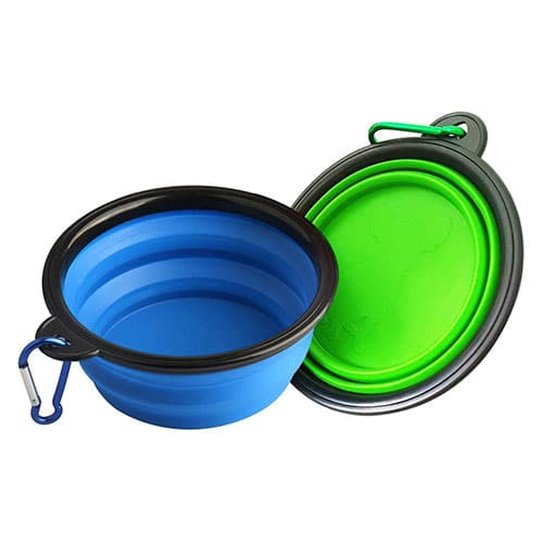 collapsible dog bowls