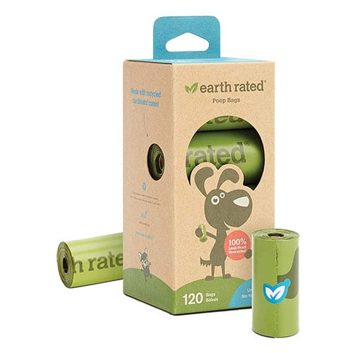 earth rated poop bags roll