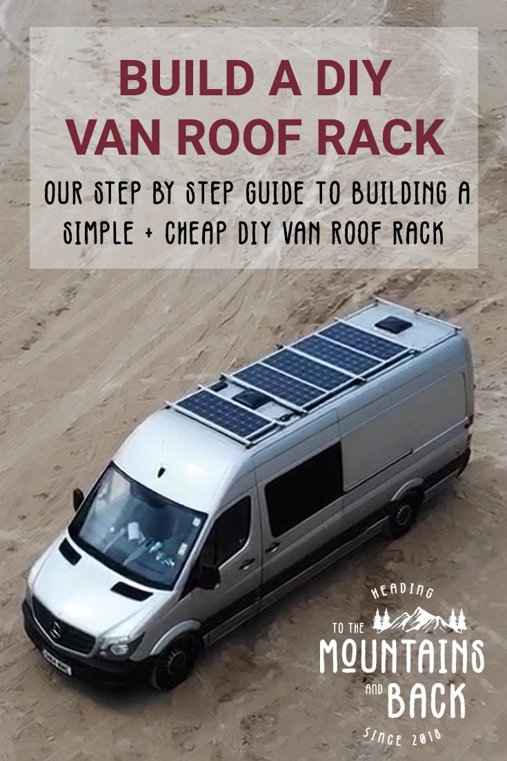How To Build A Diy Van Roof Rack
