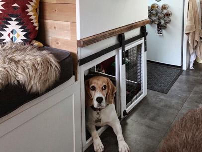 Van Build: Piglet's Bedroom