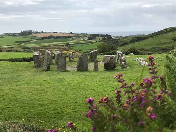 Wild Atlantic Way: Drombeg Stone circle