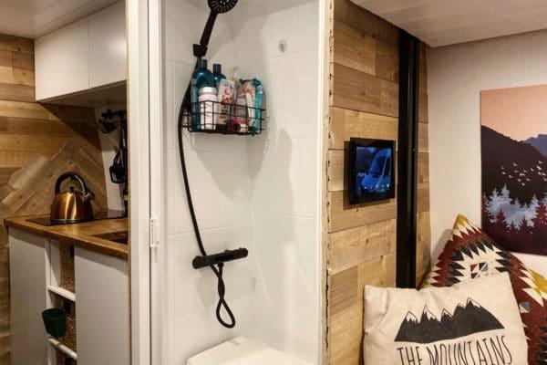 Van Build: Our Sprinter Van Bathroom