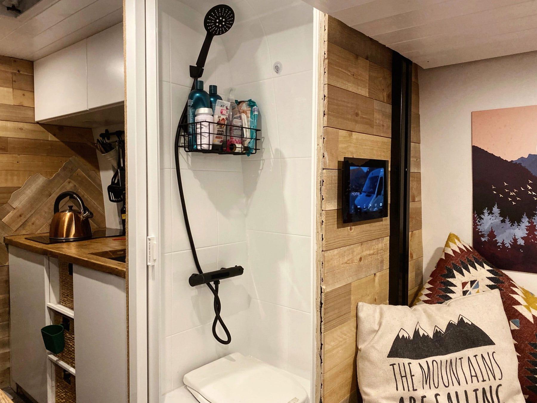 Sprinter Van Bathroom
