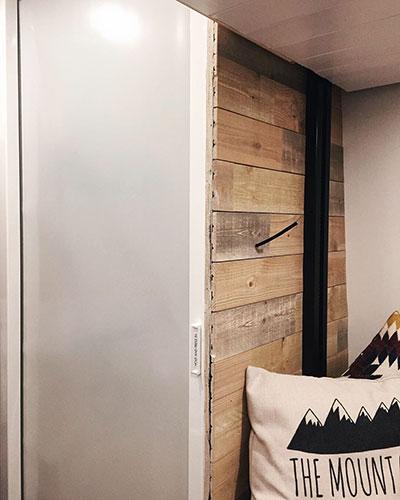 Sprinter Van Bathroom: Shower Door