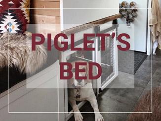 Van Build: Piglet's Bed