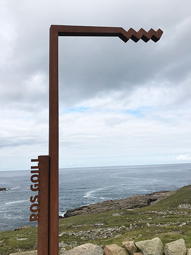 Wild Atlantic Way: Signage