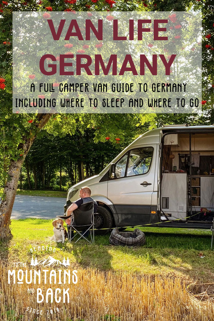 Pin Wild Camping in Germany