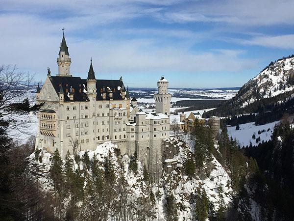 Wild Camping in Germany: Neuschwanstein Castle