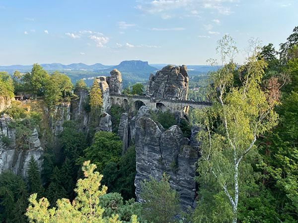 Van Life Germany: Bastei Bridge
