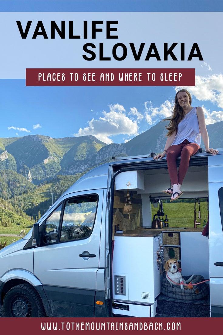 Pin Van Life Slovakia