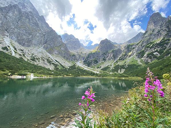 Wild Camping in Slovakia: Zelené Pleso