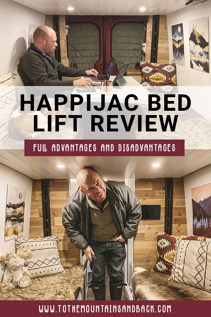 Pin our Happijac bed lift review
