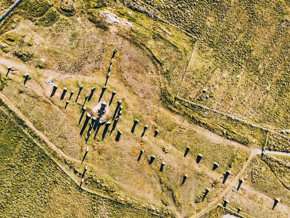 Callanish Stones from above