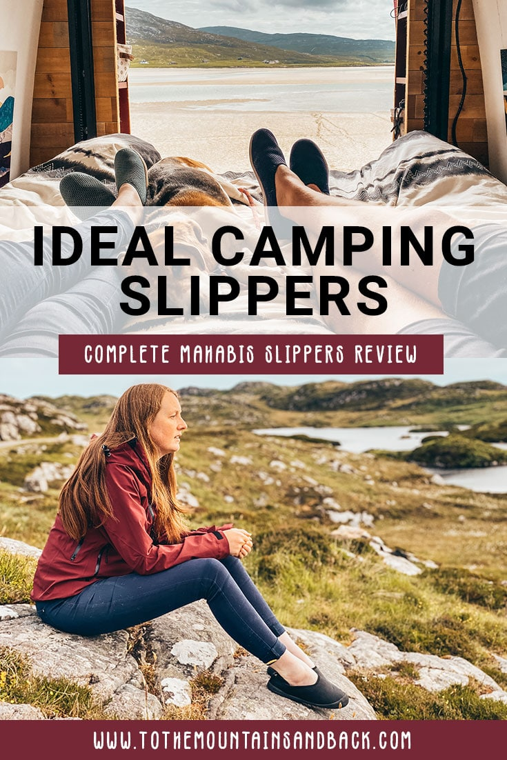 Pin camping slippers