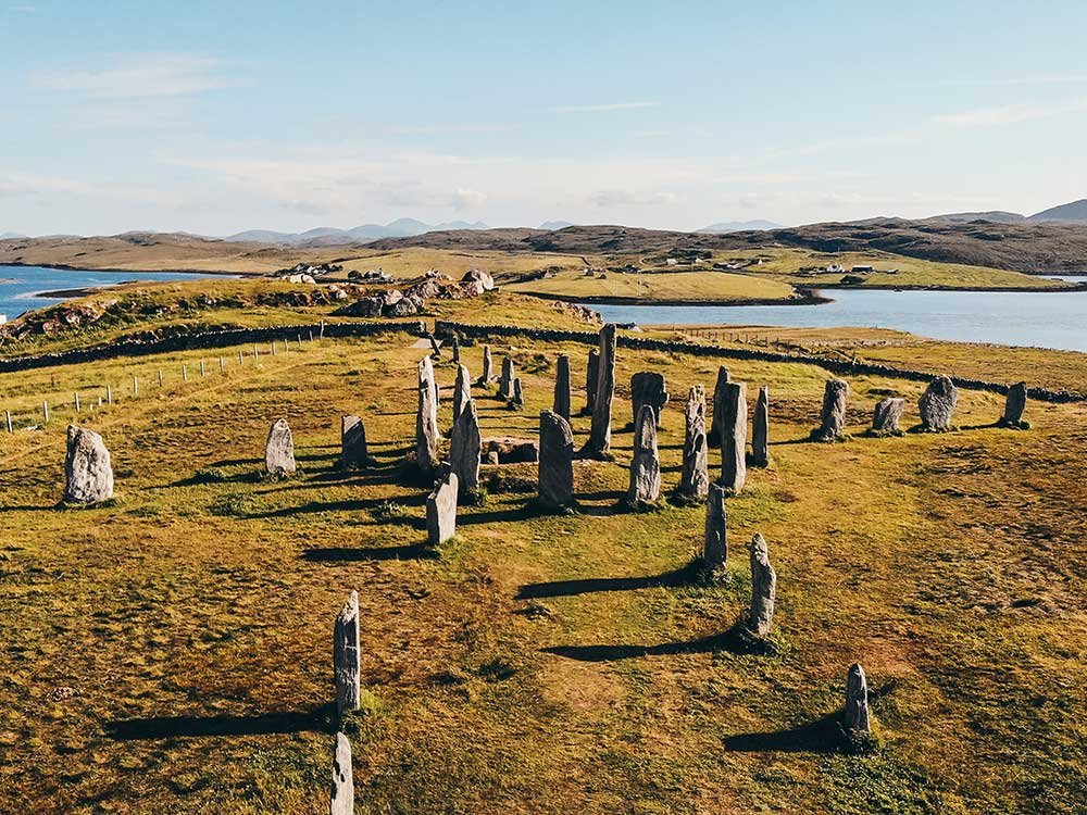 Callanish Stones on the Isle of Lewis
